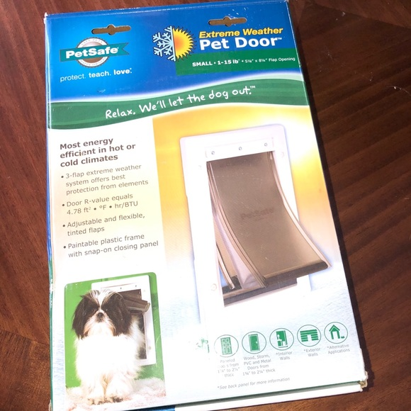 Other - New PetSafe Extreme Weather sz small pet door